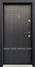 Врата Паркдор СЛ-101 Черна перла